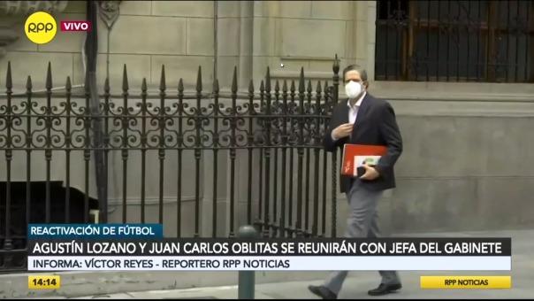Gustavo San Martín en la PCM.