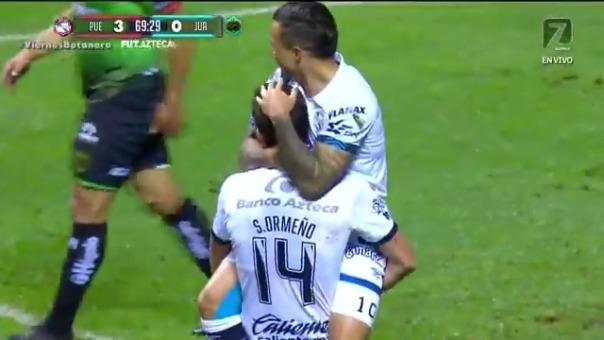 Santiago Ormeño le anotó un hat-trick a Juárez por la Liga MX