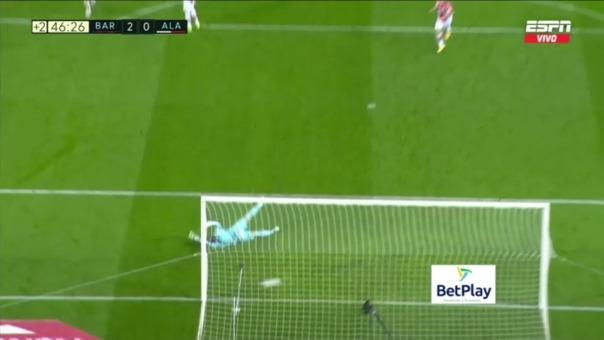 Barcelona 2-0 Alavés: así fue el gol de Lionel Messi