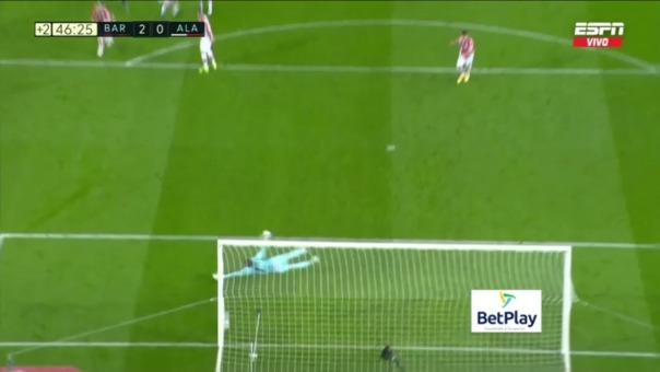 Barcelona 2-0  Alavés: así fue el gol de Messi