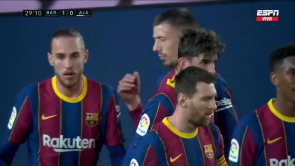 Barcelona 1-0 Alavés: así fue el gol de Trincao