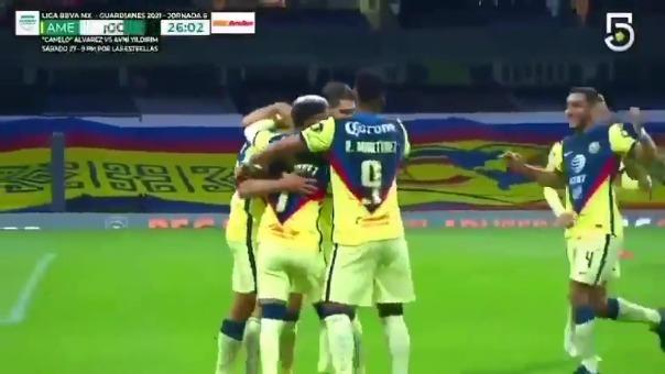 América 2-1 Querétaro: así fue el gol de Santiago Naveda