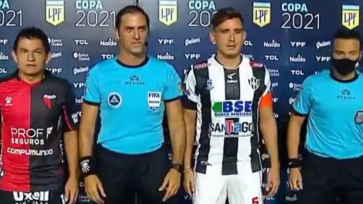 Así fue la 'huacha' de la 'Pulga' Rodríguez a Mauro Vigliano.