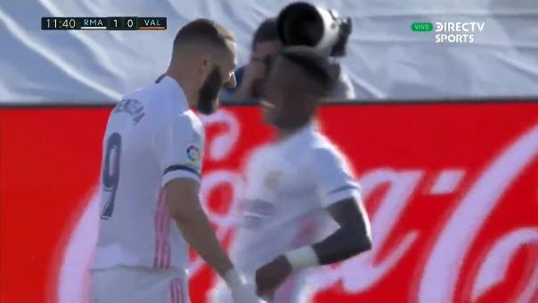 Real Madrid vs. Valencia: así fue el gol de Benzema