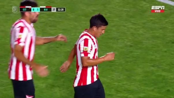 Estudiantes 1-1 River Plate: así fue el gol de Mauro Díaz