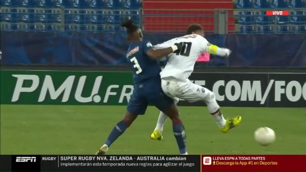 Lesión de Neymar ante Caen por la Copa de Francia