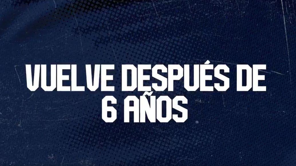 Así se anunció la llegada de Pablo Míguez a Alianza Lima