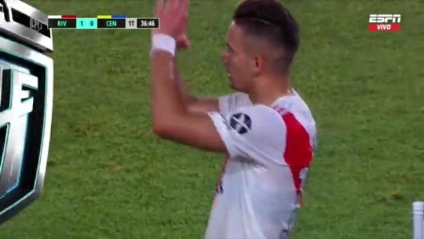 River Plate vs. Rosario Central: así fue el gol de Borré