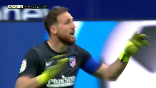 Levante venció 0-2 a Atlético de Madrid por la jornada 24 de LaLiga