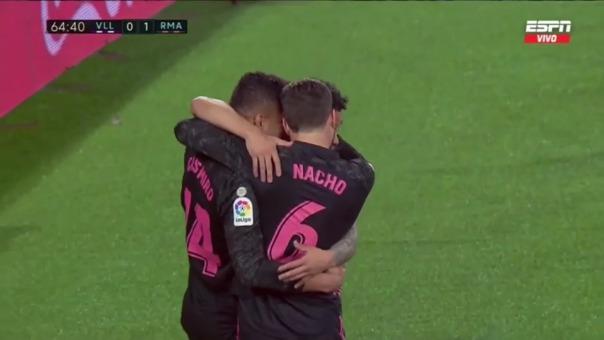 Valladolid 0-1 Real Madrid: así fue el gol de Casemiro