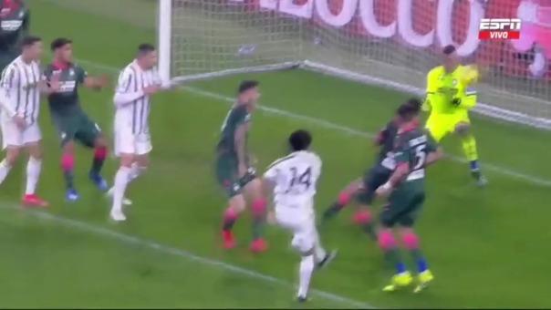 Juventus venció 3-0 a Crotone