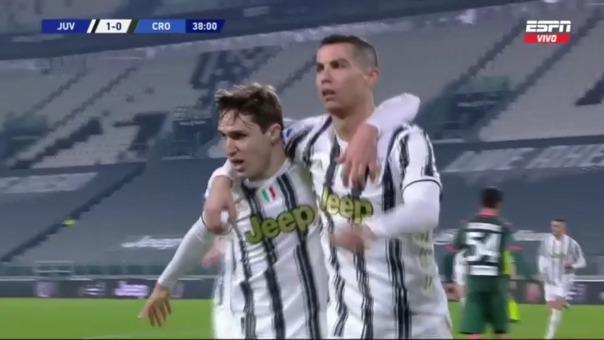 Juventus 2-0 Crotone: así fueron los goles de Cristiano Ronaldo