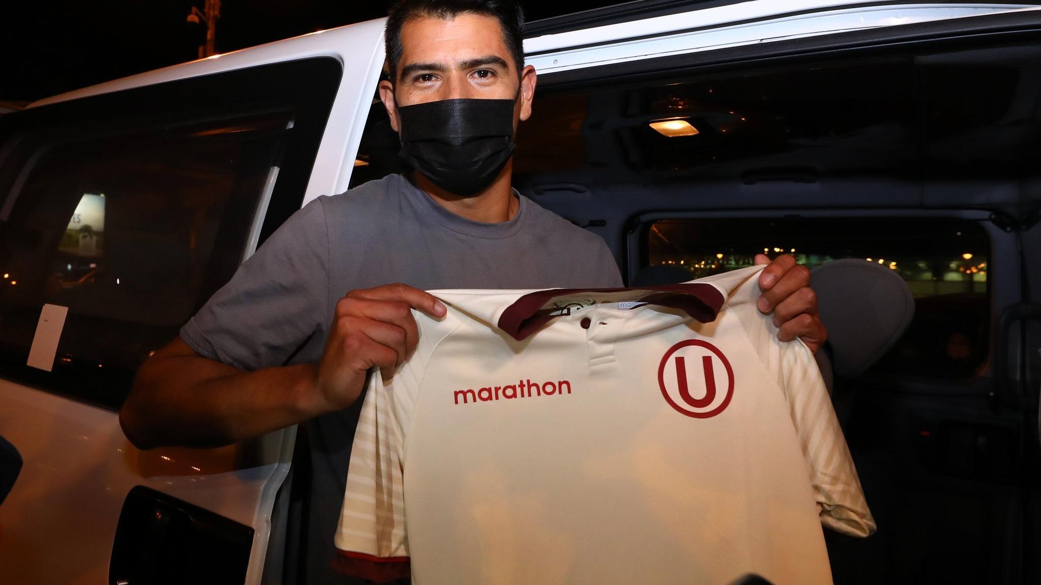 Enzo Gutiérrez llega en reemplazo de Jonathan Dos Santos