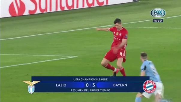 Lazio 0-3 Bayern Munich: así fueron los goles del equipo alemán