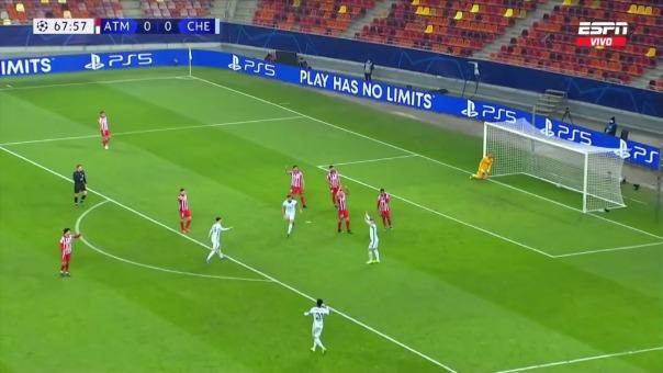 Atlético de Madrid 0-1 Chelsea: así fue el gol de Olivier Giroud