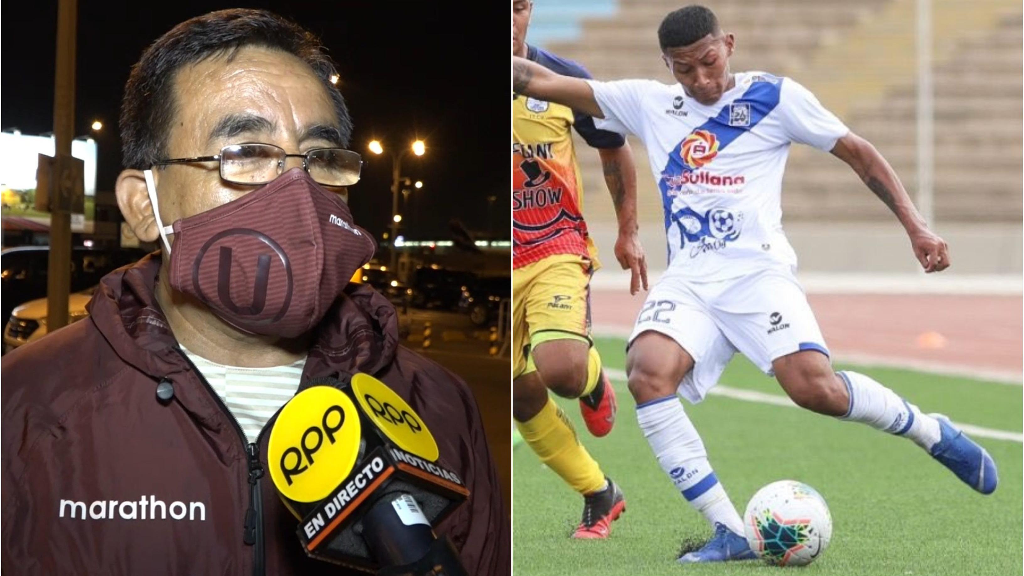 Francisco Gonzales detalló que sigue siendo opción el lateral Anthony Quijano