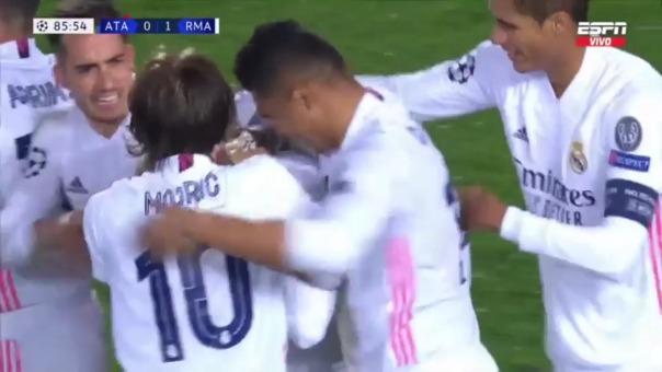 Gol de Real Madrid