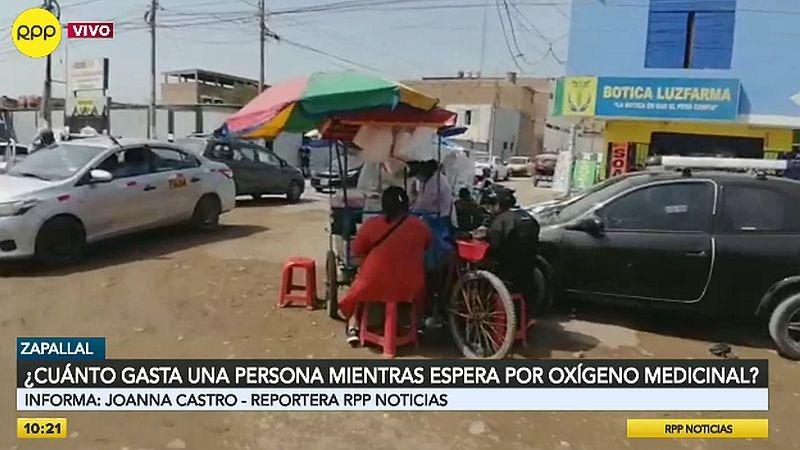 RPP Noticias llegó esta mañana a la planta de oxígeno de Zapallal, en Puente Piedra.
