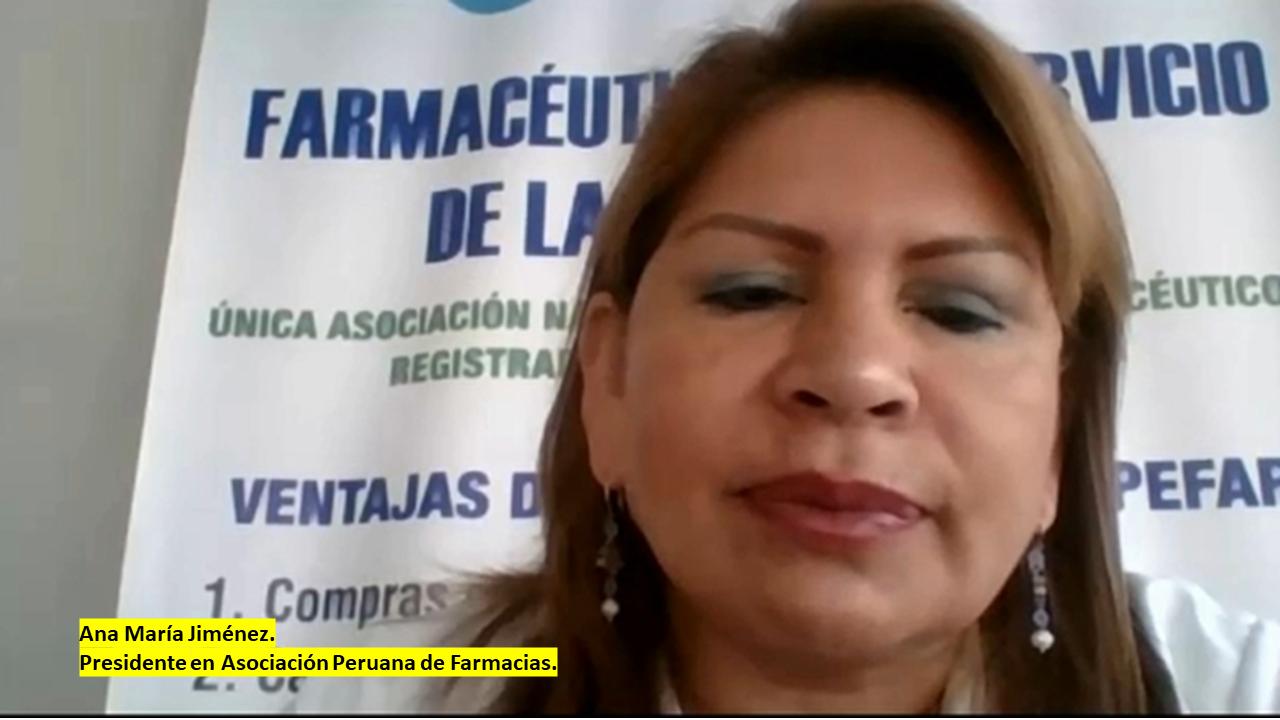 Ana María Jiménez, Presidente en Asociación Peruana de Farmacias, explica cual es el protocolo de venta de ivermectina en farmacias.