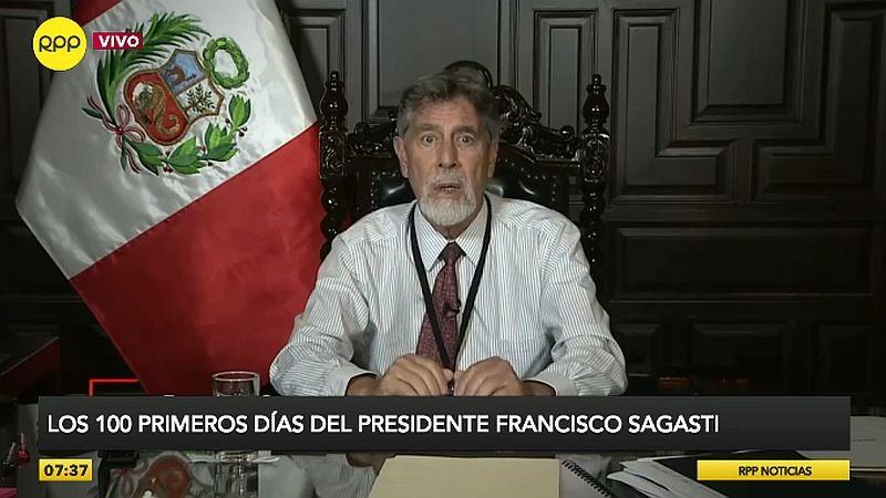 Un balance político de los cien días de Gobierno de Francisco Sagasti.