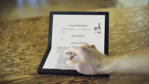 Conoce la nueva ThinkPad X1 Fold