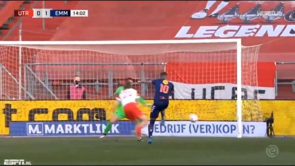 Así fue el gol de Sergio Peña