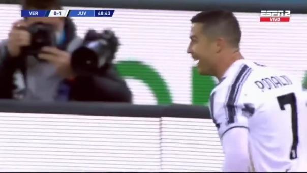 Gol de Cristiano Ronaldo ante Verona