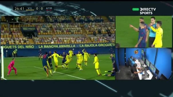 Villarreal 0-1 Atlético de Madrid