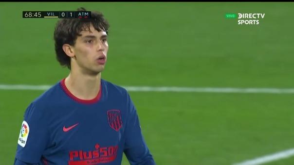 Villarreal 0-2 Atlético de Madrid: así fue el gol de Joao Felix