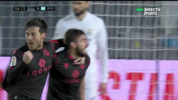 Real Madrid vs. Real Sociedad: así fue el gol de Cristian Portugués