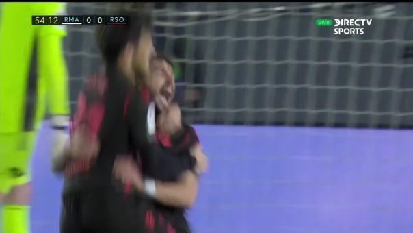 Real Madrid 0-1 Real Socierdad: así fue el gol de