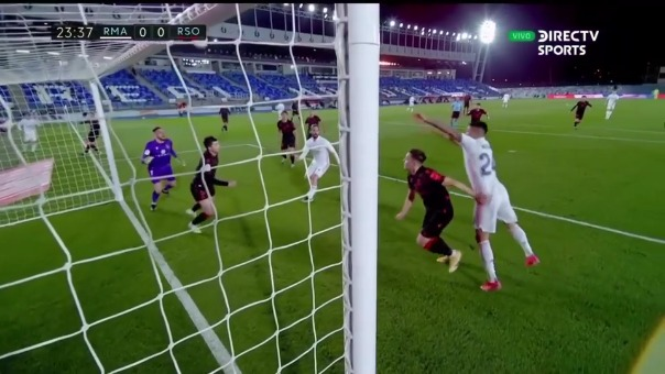 Real Madrid vs. Real Sociedad.