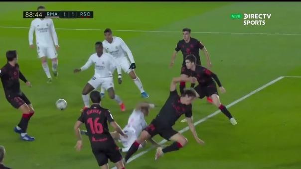 Gol de Vinicius Junior.
