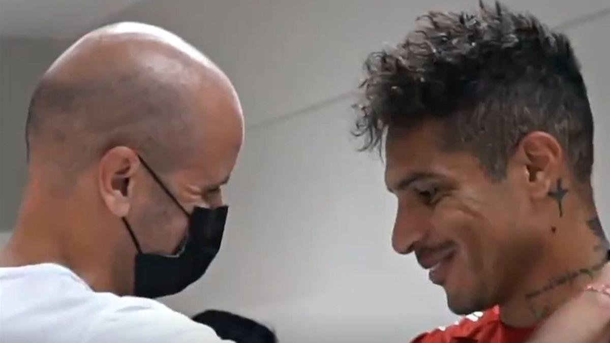 Así el dieron la bienvenida a Ramírez en el Internacional.