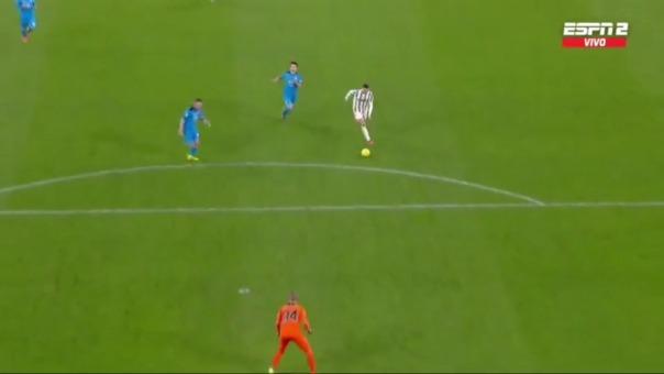 Cristiano Ronaldo marcó el 3-0 de Juventus ante Spezia