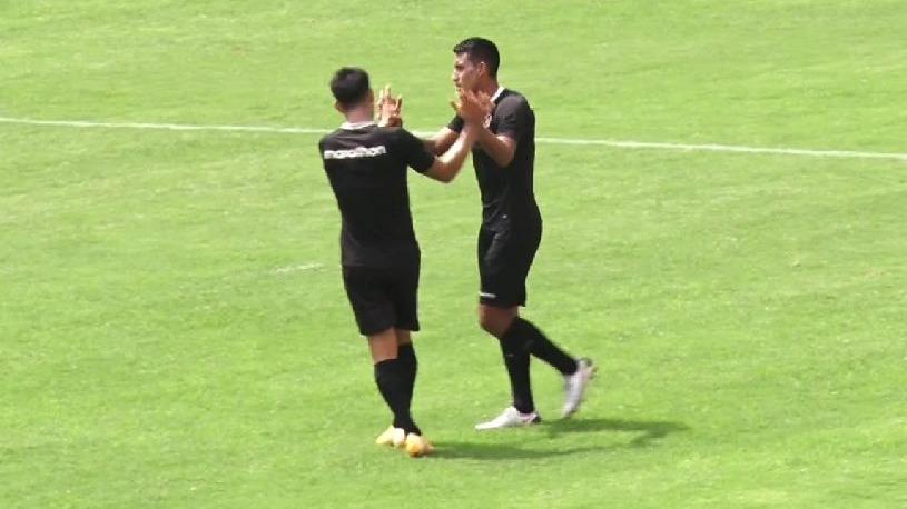 Así fue el gol de Alex Valera.