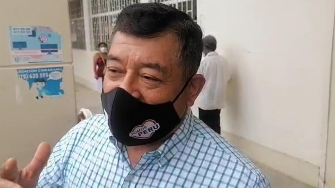 Candidato José Marcos Sánchez Popuche dijo que es un hombre honesto, trasparente y que nunca ha cobrado un sol.