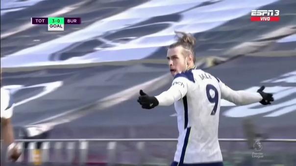 Goles de Bale ante Burnley