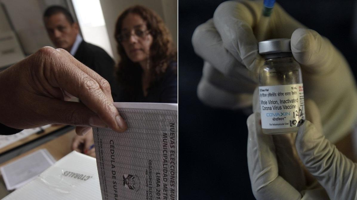 Ministerio de Salud se refirió a la vacunación de los miembros de mesa.