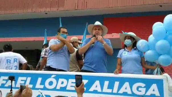 El candidato de Renovación Popular aseguró que se manifestará ante el Jurado Nacional de Elecciones.