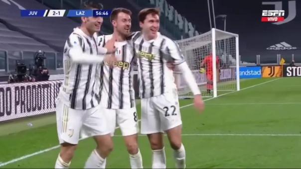 Juventus 3-1 Lazio: así fue el doblete de Morata