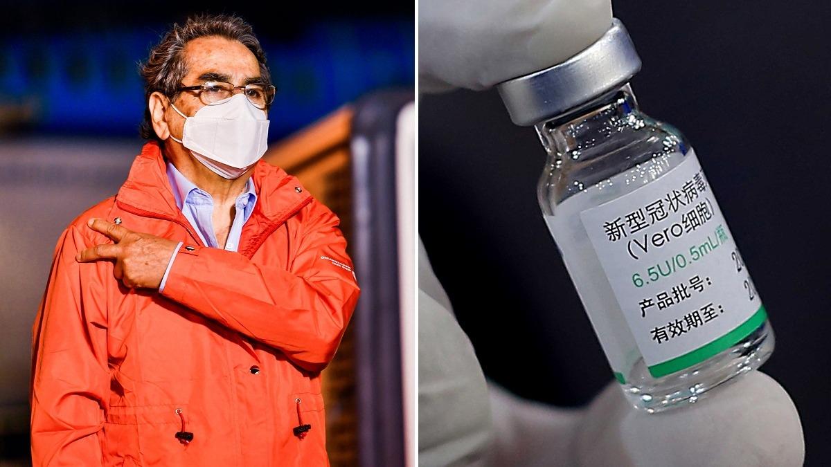 Óscar Ugarte respondió a la polémica por presunta eficacia de la vacuna china.