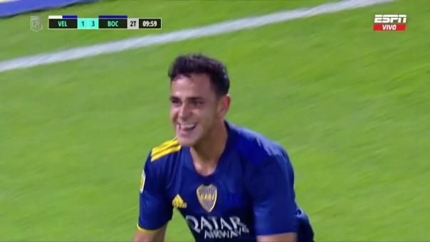 Velez 1-4 Boca Juniors: así fue el gol de Maroni