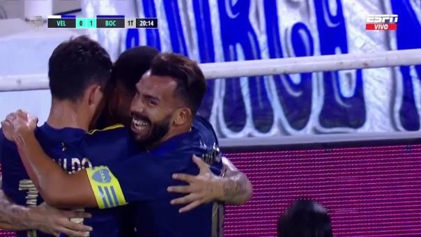 Velez 0-1  Boca: así fue el gol de Cardona