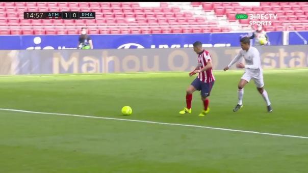 Atlético de Madrid 1-0 Real Madrid: así fue el gol de Luis Suárez