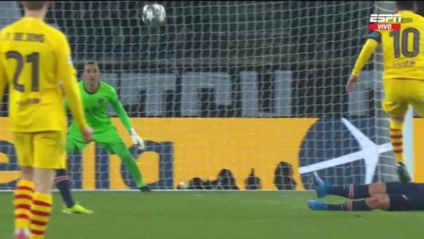 PSG 1-1 Barcelona: así fue el golazo de Messi