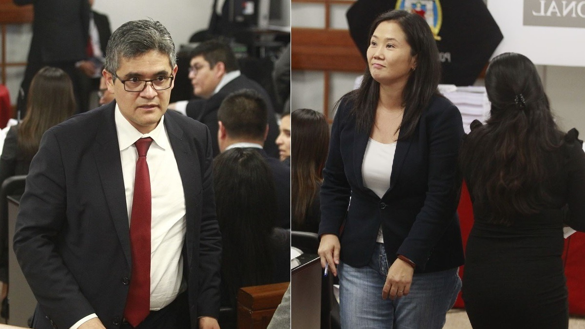 Fiscal Pérez presentó su acusación contra Keiko Fujimori.