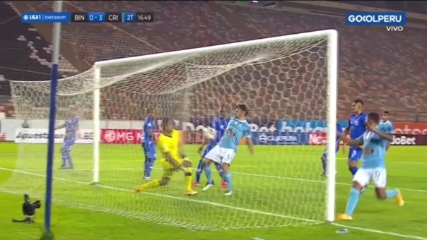 Binacional 0-3 Sporting Cristal: así fue el gol de Omar Merlo
