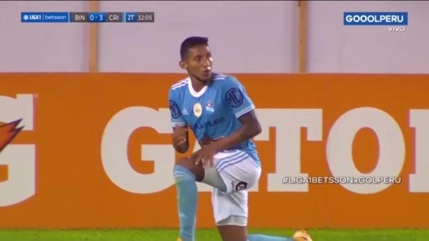 Binacional 0-4 Sporting Cristal: así fue el segundo gol de Christofer Gonzales