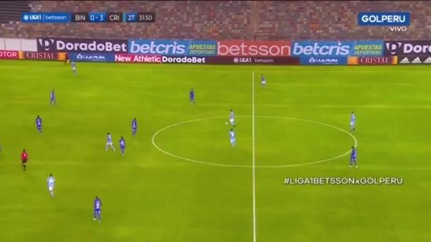 Christofer Gonzales marcó el 4-0 ante Binacional